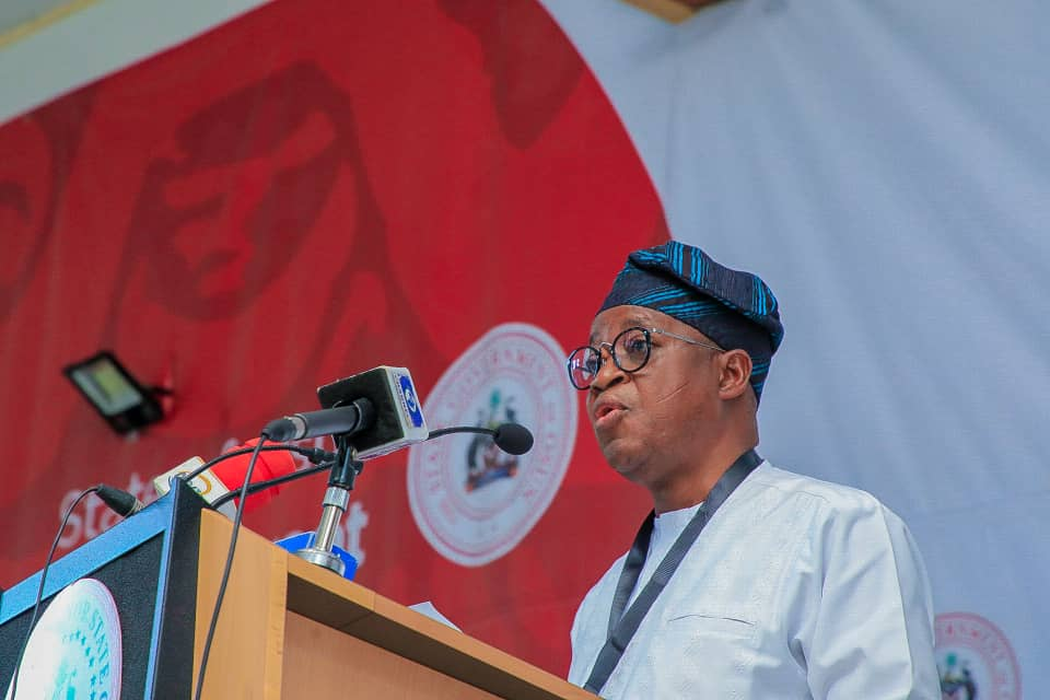 Governor Oyetola's speech on COVID-19 30/04/ 2020….3 Days lockdown Extension and relaxation begins on Monday 4th May 2020