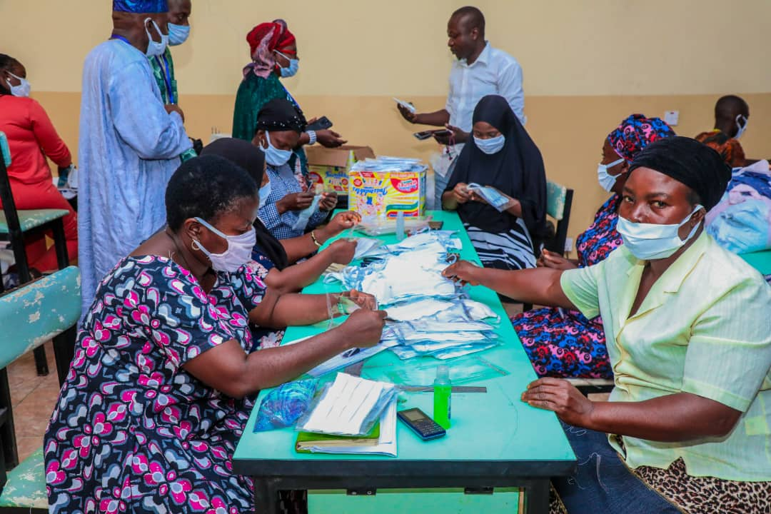 Osun Technical and Vocational College Begins Massive Production Of Face Mask